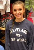 Cleveland Navy VS The World Long Sleeve T Shirt