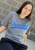 Cleveland Buckeyes Rally Tailsweep Fashion T Shirt - Grey