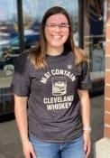 Cleveland Whiskey Heather Black May Contain Whiskey Short Sleeve T Shirt