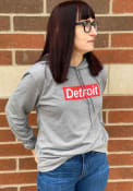 Detroit Grey Workhorse Long Sleeve Light Weight Hood