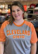 Cleveland Grey Ringtone Short Sleeve T Shirt