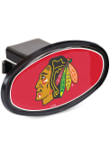 Chicago Blackhawks Oval Car Accessory Hitch Cover