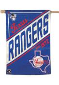 Texas Rangers 28x40 Cooperstown Banner