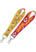 Kansas City Chiefs Super Bowl LIV Champions 1 Key Strap Lanyard