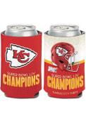 Kansas City Chiefs Super Bowl LIV Champions 12oz Coolie