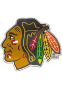 Chicago Blackhawks Auto Badge Car Emblem - Black