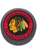 Chicago Blackhawks Clamshell Hockey Puck