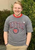 Dayton Flyers Arch Fashion T Shirt - Grey