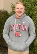 Dayton Flyers Arch Fashion Hood - Grey