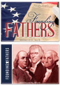 Philadelphia Founding Fathers 2pk Magnet