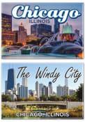 Chicago Windy City 2pk Magnet