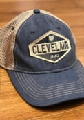 Cleveland Oil Burner Scout Meshback Adjustable Hat - Navy Blue