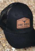 Dallas Ft Worth Roamer Trucker Adjustable Hat - Black