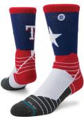 Stance Texas Rangers Mens Blue Diamond Pro Crew Socks
