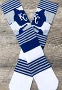 Kansas City Royals Mens Blue Color Camo Crew Socks