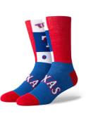 Stance Texas Rangers Mens Blue Pop Fly Dress Socks