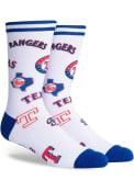 Texas Rangers Mix Crew Socks - Blue
