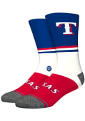 Texas Rangers Stance Color Crew Socks - Blue