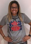 Cleveland Heather Grey Major League Vaughn Wild Thing Short Sleeve T Shirt