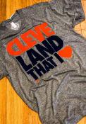 GV Art + Design Cleveland Grey Land That I Love Short Sleeve T Shirt