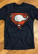 GV Art + Design Cleveland Navy Blue Super C Short Sleeve T Shirt