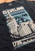 GV Art + Design Cleveland Grey Bold Graphic Short Sleeve T Shirt