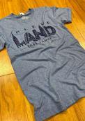GV Art + Design Blue Cleveland Landmarks Short Sleeve T Shirt