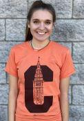 GV Art + Design Cleveland Orange C Terminal Short Sleeve T Shirt