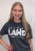 Cleveland GV Art + Design Landmarks Fashion T Shirt - Charcoal