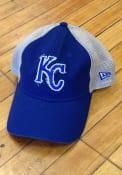 New Era Kansas City Royals 2T Meshback 9TWENTY Adjustable Hat - Blue