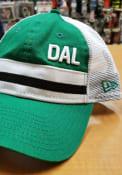 Dallas Ft Worth New Era Stripe Trucker 9TWENTY Adjustable Hat - Green