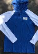 Kansas City Royals New Era Brushed Henley Fashion Hood - Blue