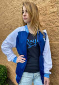 Kansas City Royals New Era Tricot Raglan Track Jacket - Blue