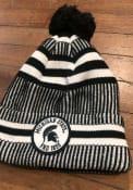 New Era Michigan State Spartans Green NE19 Sport Cuff Pom Knit Hat