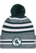 Michigan State Spartans New Era NE19 Sport Knit Knit - Green