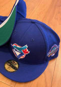 Toronto Blue Jays New Era 1993 World Series Side Patch 59FIFTY Fitted Hat - Blue