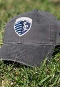 Sporting Kansas City New Era Core Classic 9TWENTY Adjustable Hat - Grey