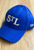St Louis Stars New Era Vintage Front 9TWENTY Adjustable Hat - Blue