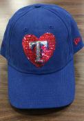 New Era Texas Rangers Womens Blue Model Fan LS 920 Adjustable Hat