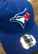 Toronto Blue Jays New Era Core Classic 9TWENTY Adjustable Hat - Blue
