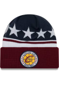 New Era Cleveland Cavaliers Maroon 2018 Tip Off Knit Hat