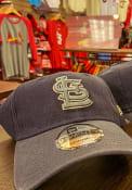 New Era St Louis Cardinals Toned Down 9TWENTY Adjustable Hat - Navy Blue