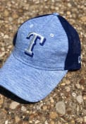 Texas Rangers Womens New Era Spaced Dye Mesh LS 9TWENTY Adjustable - Blue