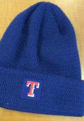 New Era Texas Rangers Blue 2018 Sport Knit Hat