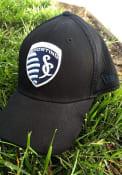 New Era Sporting Kansas City Black Neo 39THIRTY Flex Hat