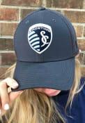 New Era Sporting Kansas City Grey Neo 39THIRTY Flex Hat