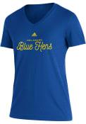 Delaware Fightin' Blue Hens Womens Blend T-Shirt -