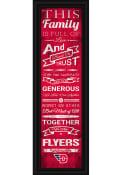 Dayton Flyers 8x24 Framed Posters