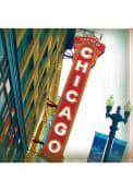 Chicago Theatre Stone Tile Coaster