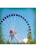 Chicago Navy Pier Ferris Wheel Stone Tile Coaster